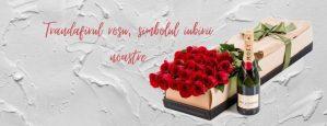 Trandafirul rosu simbolul iubirii noastre