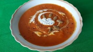 Supa crema din dovleac copt
