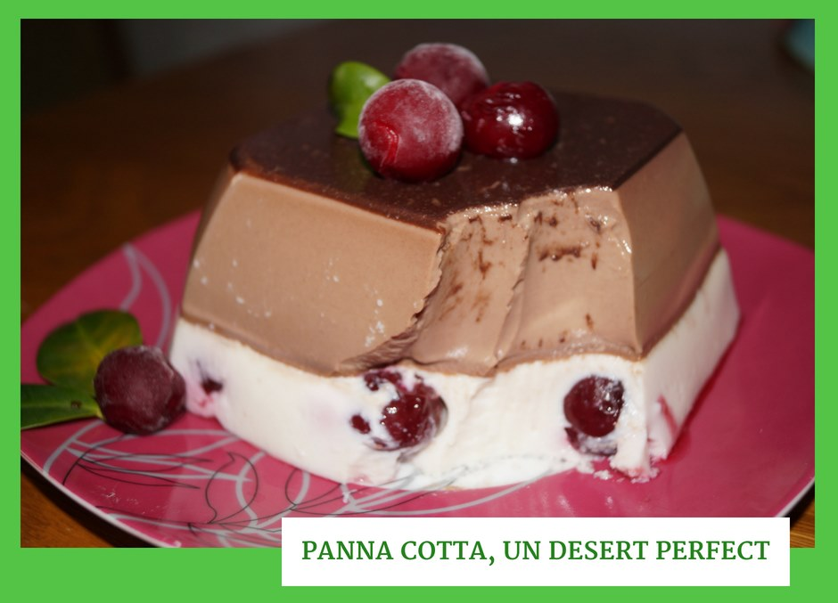 Panna Cotta, un desert perfect
