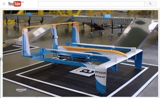 Colete trimise prin drone?