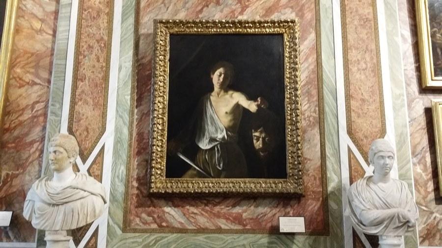 """David si Goliat"" 1606"