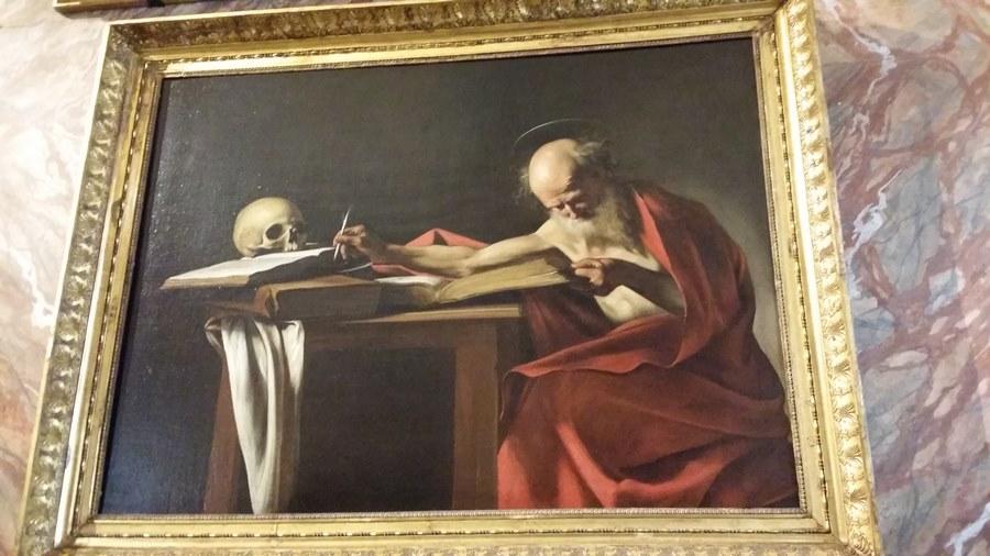 """""""Sfantul Ieronim"""" 1606"""