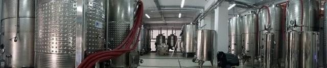 Traditie si modernitate la Vila Dobrusa. Sala tehnologiei de fabricatie a vinului