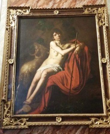 """Sf . Ioan Botezatorul"" , 1610"
