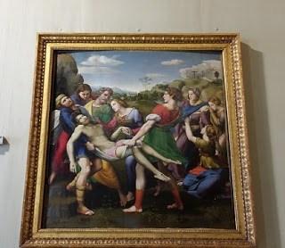 Galeria Borghese Raphael Depozitia lui Cristos