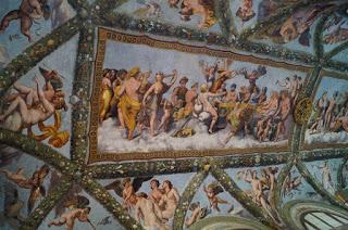 Villa Farnesina - Loggia lui Cupidon si Psyche- Raphael