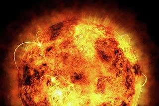 The Sun byMichael Tompsett