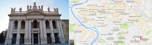 Arhibasilica San Giovanni in Laterano, catedrala oficiala a Romei