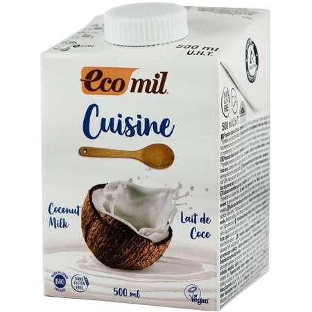 Crema Vegetala BIO pentru Gatit pe Baza de Cocos Ecomil 500 ML
