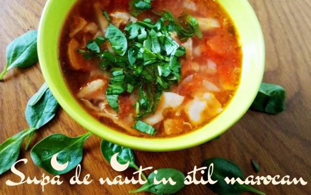 Supa de naut in stil marocan