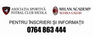 4 motive pentru a-ti inscrie copilul laMilan Academy - Asociatia Sportiva Fotbal Club Nicola ASFCN