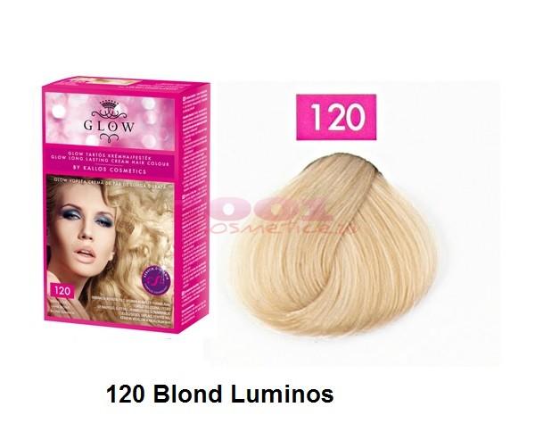 KALLOS GLOW VOPSEA DE PAR BLOND LUMINOS 120
