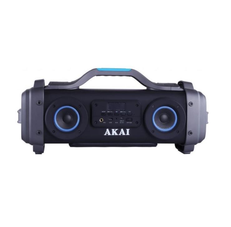 Boxa portabila Bluetooth pentru karaoke, activa, AKAI ABTS-SH01, 30W