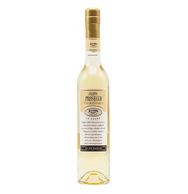 Bautura traditionala Grappa Prosecco Barricata, 40% alc., 0.2L, Italia