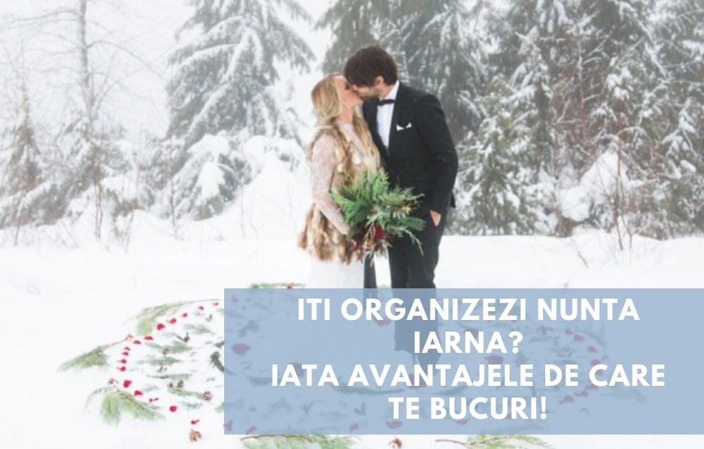 Iti organizezi nunta iarna? Iata avantajele de care te bucuri!