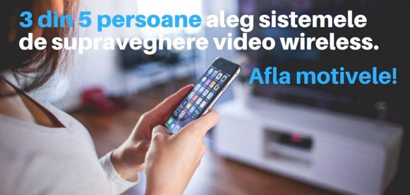 Avantaje sistemele de supraveghere video
