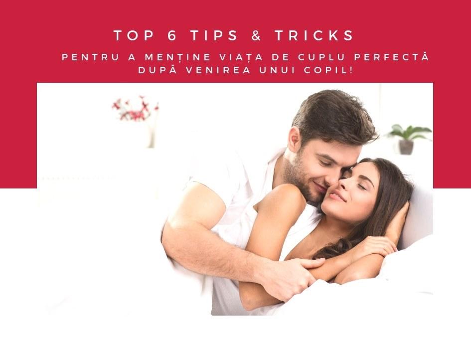 TOP 6 TIPS & TRICKS pentru a menține viața de cuplu PERFECTĂ după venirea unui copil!