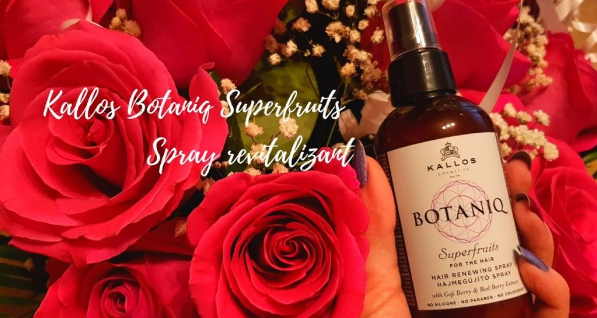 Produse de par Kallos Botaniq Superfruits Spray revitalizant 150 ml