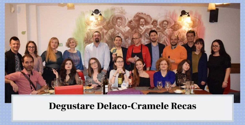 Asociatia Bloggerilor Olteni la degustarea Delaco- Cramele Recas