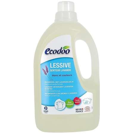 Detergent Bio rufe cu aroma de lavanda Ecodoo 1.5 litri
