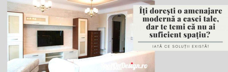 Îți dorești o amenajare modernă a casei tale. Iată ce soluții există!
