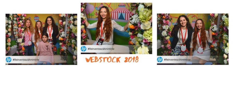 Bucuria, emotia ce insoteste Webstockul 2018