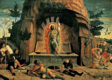 Invierea lui Hristos Mantegna Andrea_1457-1459