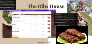 Bunatati gatite de care te bucuri acasa. Restaurantul The Ribs House