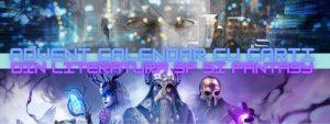 Advent Calendar cu carti din literatura SF și Fantasy