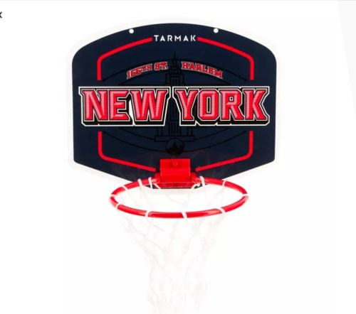 SET MINI BASCHET NEW YORK CU MINGE INCLUSĂALBASTRU COPII/ADULȚI TARMAK