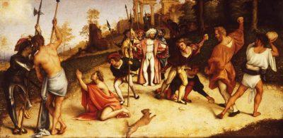 Martiriul Sfântului Ștefan - de Lorenzo Lotto 1516