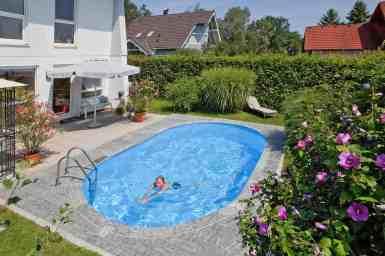 Piscină Metalică Ovală – Hobby Pool Toscana – 7 x 3.5 x 1.5 m