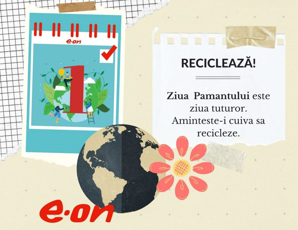 Calendar de sustenabilitate ziua 1