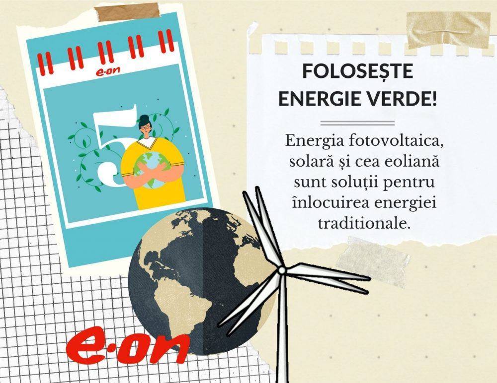 Calendar de sustenabilitate ziua 5