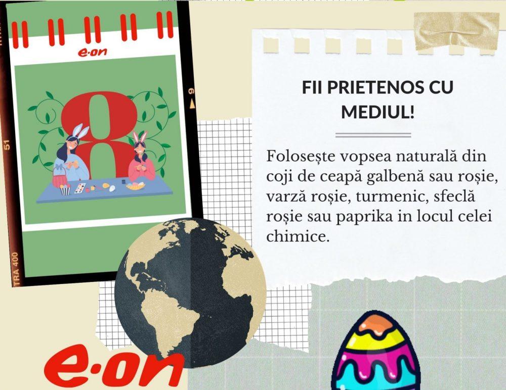 Calendar de sustenabilitate ziua 8