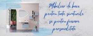 Mobilier de baie pentru toate simturile si pentru fiecare personalitate
