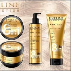5 cadouri pentru cea mai buna prietena, cadouri de vara Pachet profesional pentru ingrijirea parului Eveline Hair Clinic Oleo Expert pentru crestere rapida
