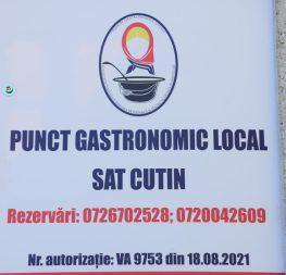 punctul gastronomic local Cutin