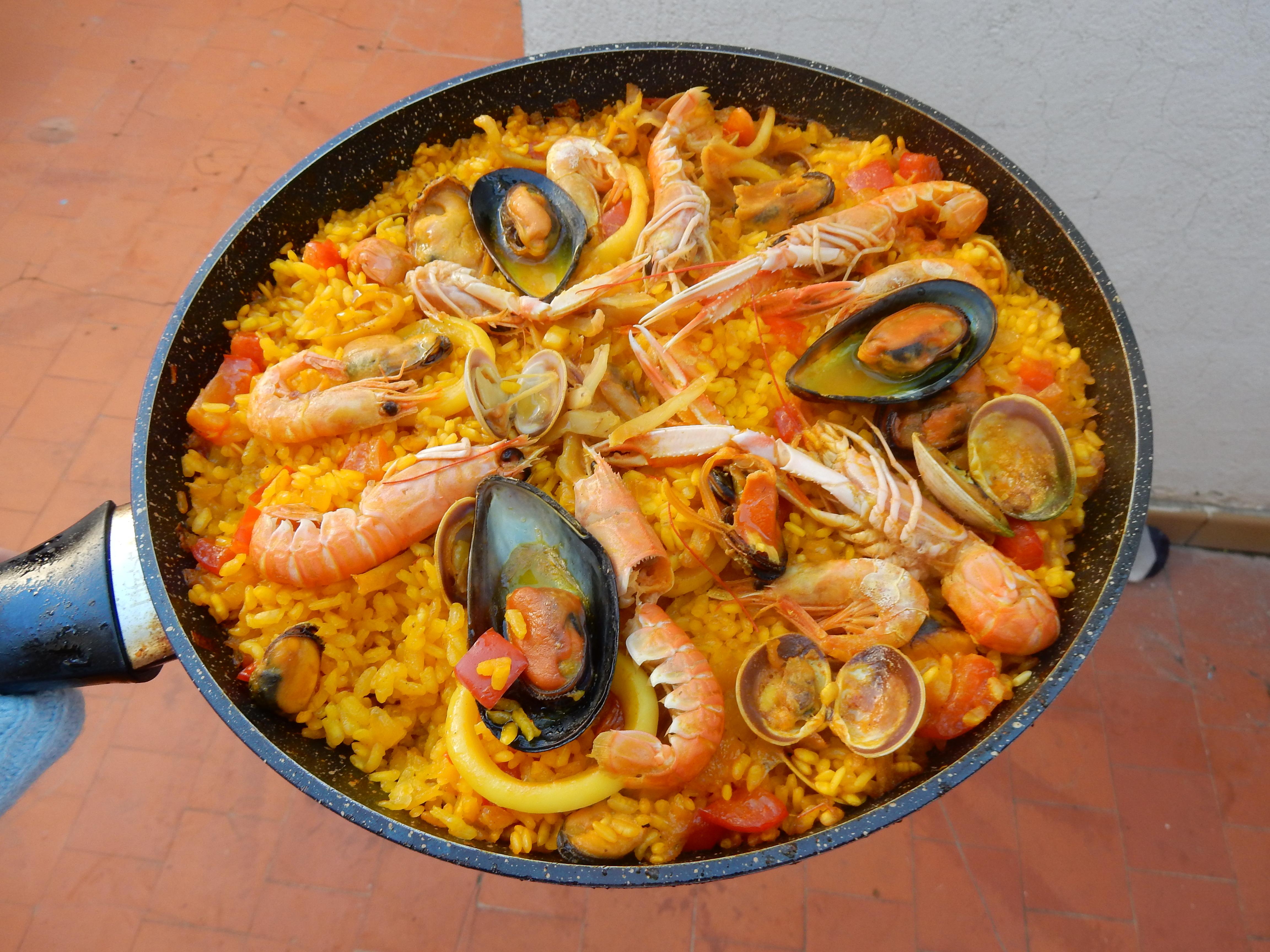 Paella de Marisco(シーフードパエリア)