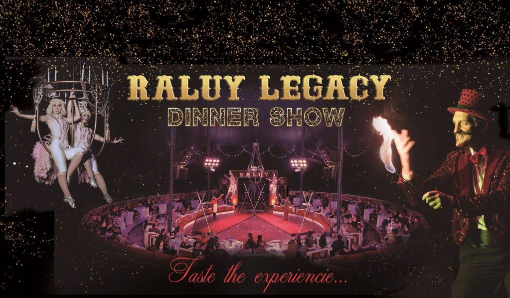 Cena Espectaculo Barcelona Raluy Legacy