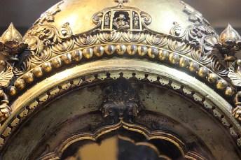 Shrine: Gold and silver coated; Wai (Maharashtra); 18th Century.