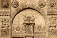 Detail, Nagina Masjid cenotaph.