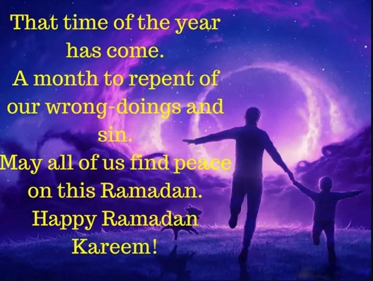 Ramadan Mubarak Wishes for Family