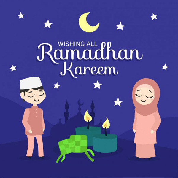 lovely ramadan kareem cards