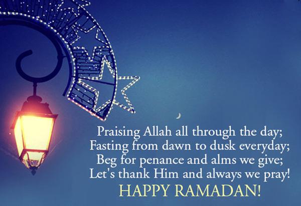 advance happy ramadan messages