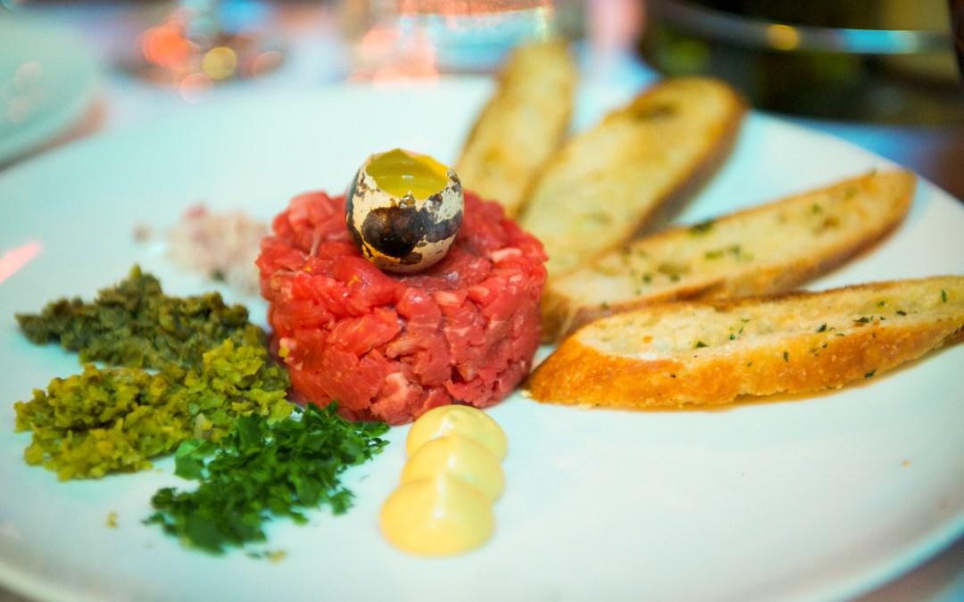 Steak tartar de vedella ecològica
