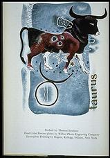 'Taurus', illustration by Thomas Benrimo,  PM Magazine, January 1936.