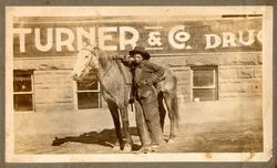 photograph of African-American cowboy