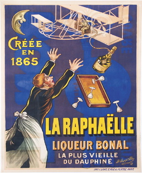 poster for Bonal liqueur