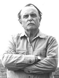 photograph of Alvin Lucier